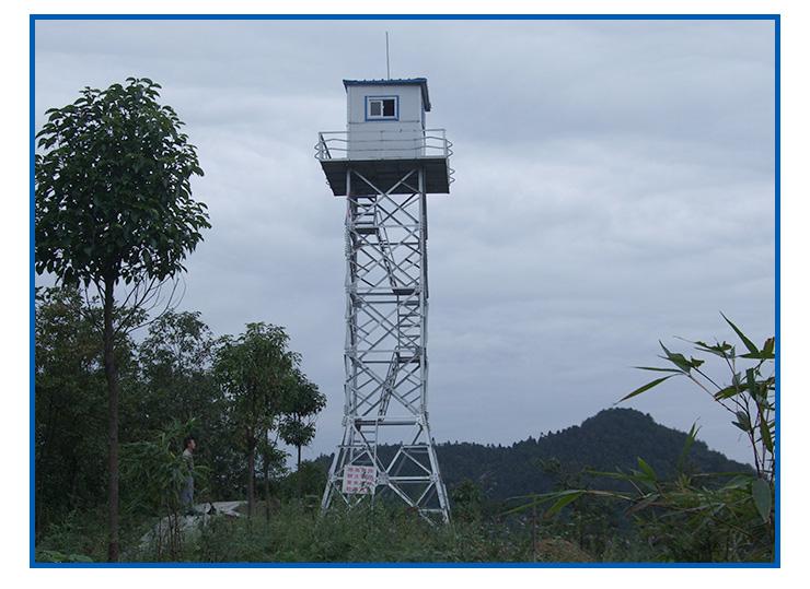 供应用于森林防火监控的河北衡水森林防火了望塔厂家