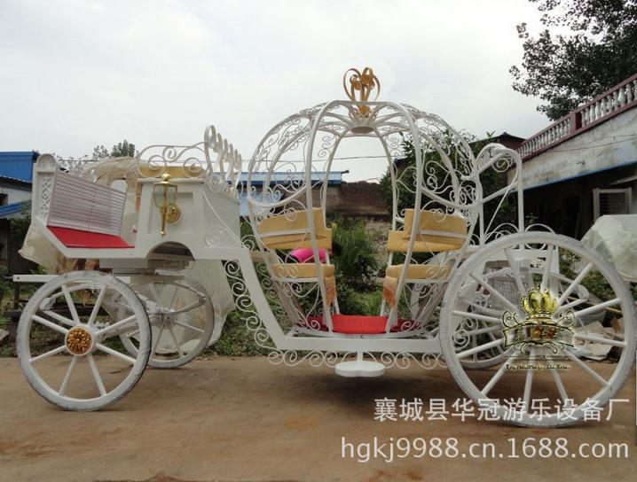 供应南瓜马车YC-C0041 /旅游马车/公主