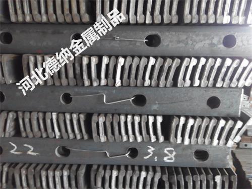 供应用于钢轨连接的道夹板价格 轨道夹板标准及道夹板