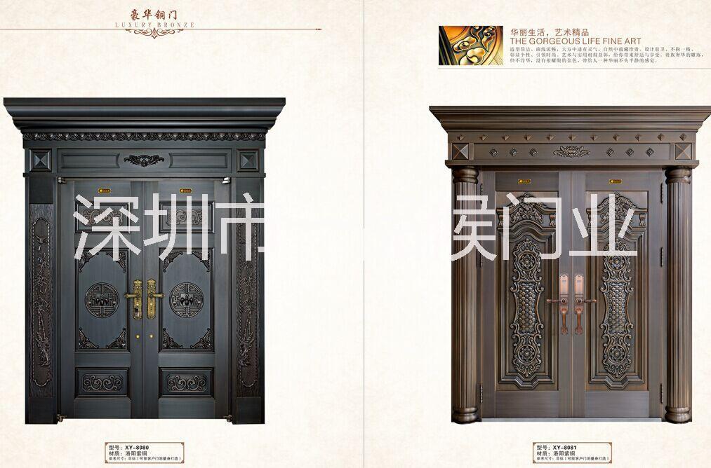 欧式仿古铜门图片