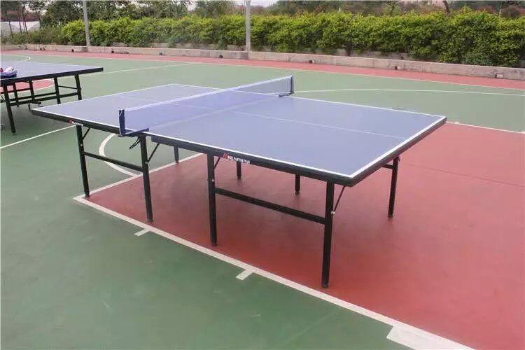 深圳标准乒乓球台家用乒乓球桌室内标准乒乓球台 家用带轮可折叠式乒乓球台家用乒乓球台可移动折叠式乒乓案子