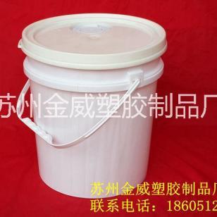 10L广口桶食品塑料桶图片