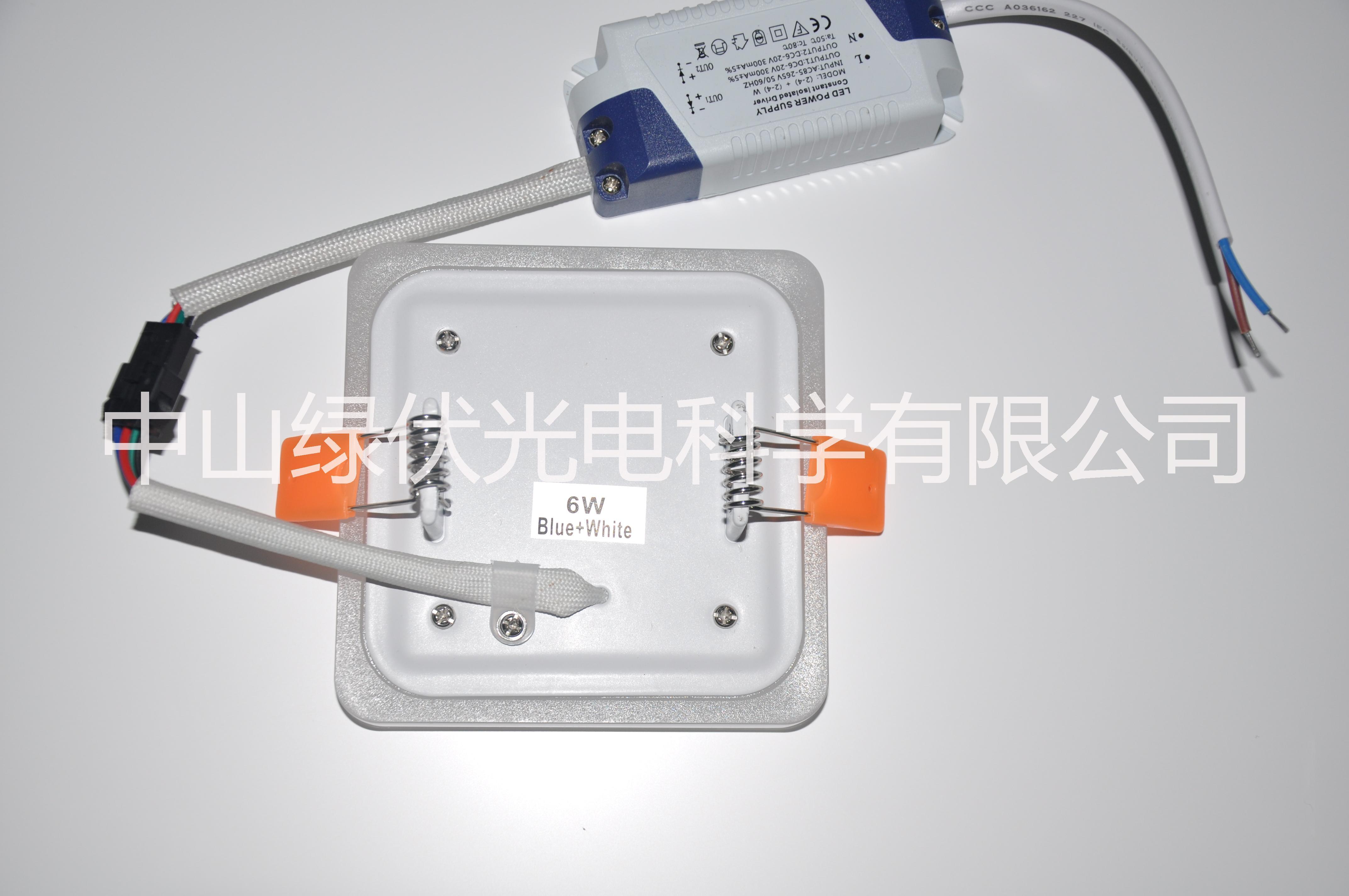 超薄LED嵌入式圆形双色销售