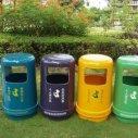 供应玻璃钢垃圾桶