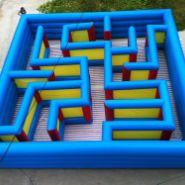 充气大型迷宫 儿童充气益智产品图片