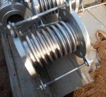 供应用于电力管道的焊接式补偿器dn15pn1.6 大拉杆补偿器 套筒补偿器生产厂家图片