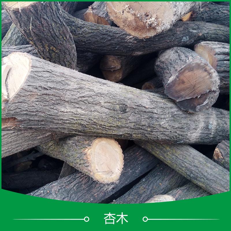 供应用于工艺品|装修建材的菏泽杏木、山东优质大径果木|杏木原木批发