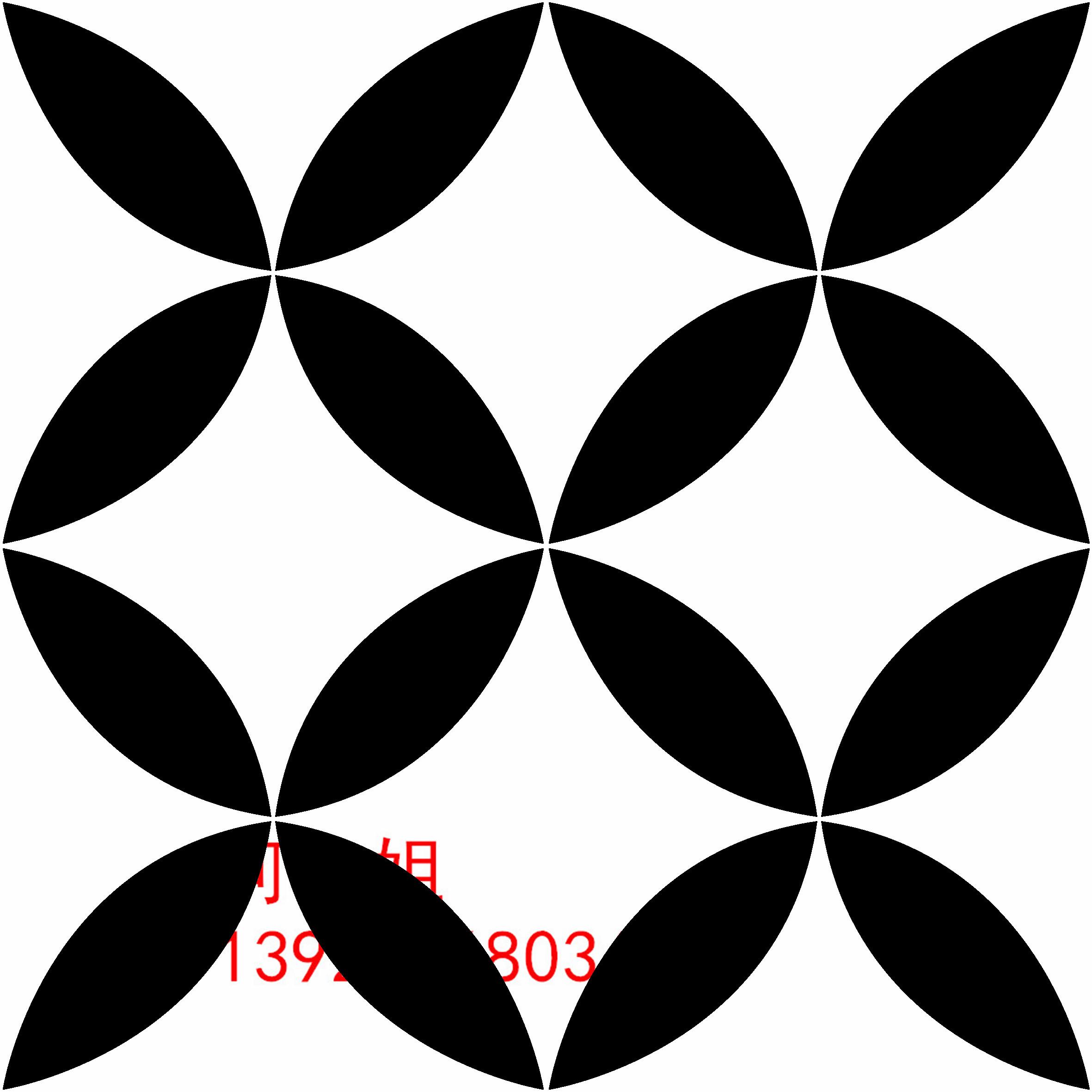 供应黑白色拼花砖200*200 地板砖 花砖瓷砖 背景墙玄关拼图拼花