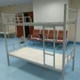 深圳铁床双层床铁架床上下铺铁床双人床铁艺床高低床子母床包邮