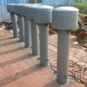 供应用于水池专用的罩型通气帽价格|国标DN250 H3=1200罩型通气帽批发