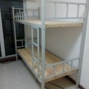供应用于的厂家直销双层铁床 加厚规格上下铺铁架床 学生单人双层方管床定制