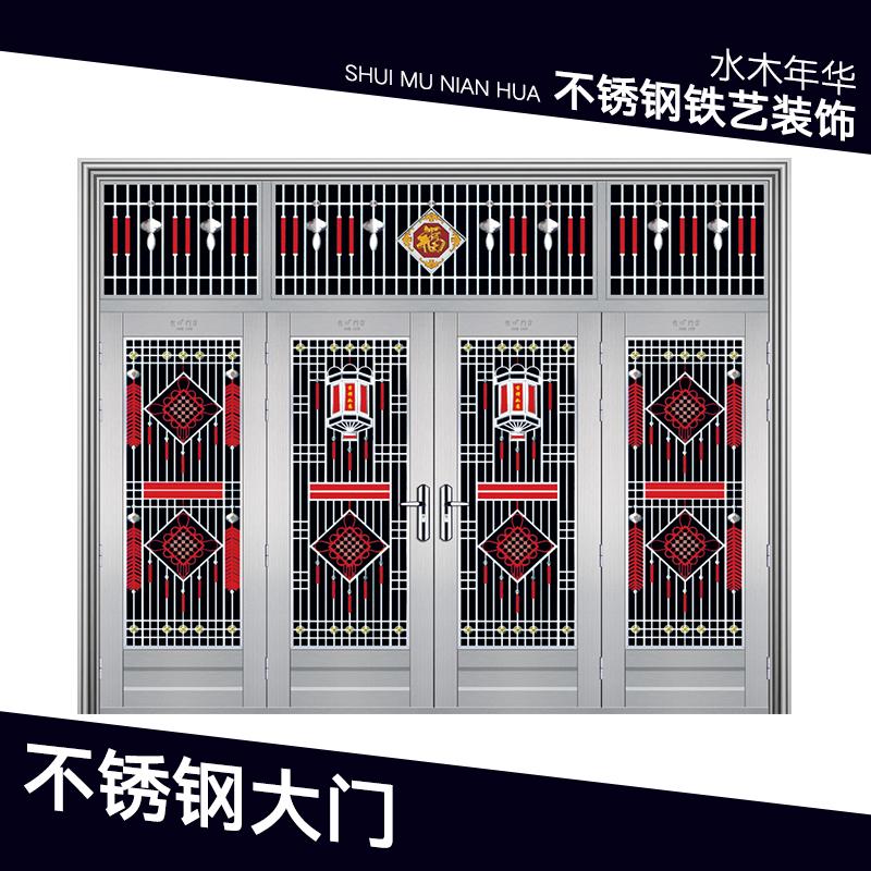 供应厂家直销生产定制不锈钢防火大门不锈钢彩板门不锈钢大门