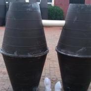 三格化高密度聚乙烯一体式化粪池图片