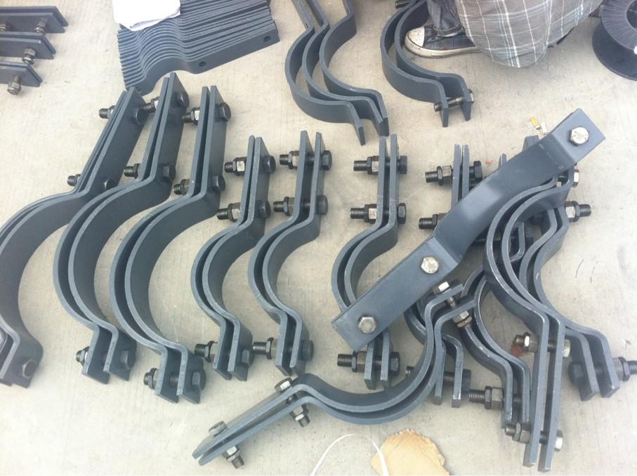 供应用于电力管道的厦门整定弹簧支吊架价格 双右螺纹拉杆 吊环螺母 弯头管托 t型管托 可变弹簧支吊架价格低