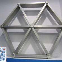 供應四川鋁格柵 仿木紋鋁格柵天花生產廠家 至金鋁格柵圖片