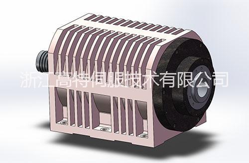 专业定制车铣电主轴22kW (GTE-505-D73L-1522 车铣机床专用伺服电主轴
