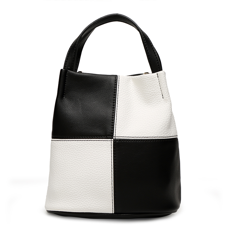 黑白格子包