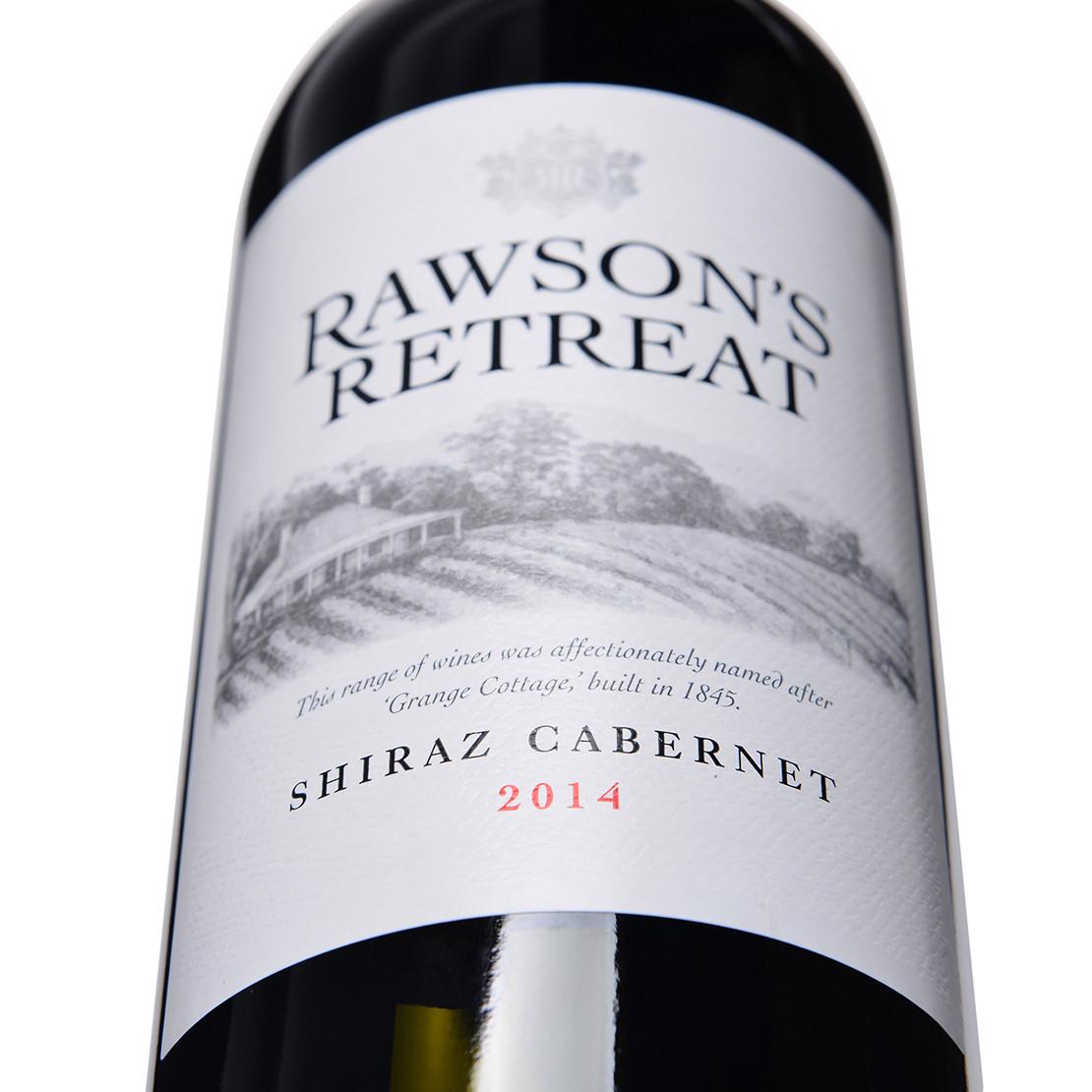 洛神山庄设拉子赤霞珠红葡萄酒2015Rawson''s Retreat Shiraz Cabernet 2015