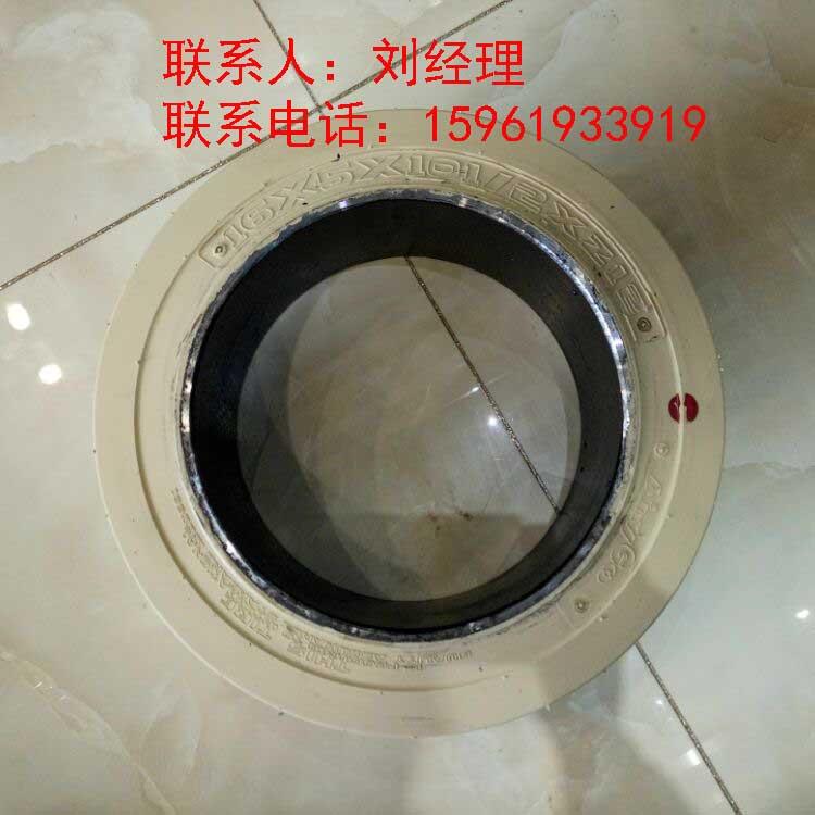 平板拖车AnyGo环保实心轮胎16x5x10 1/2