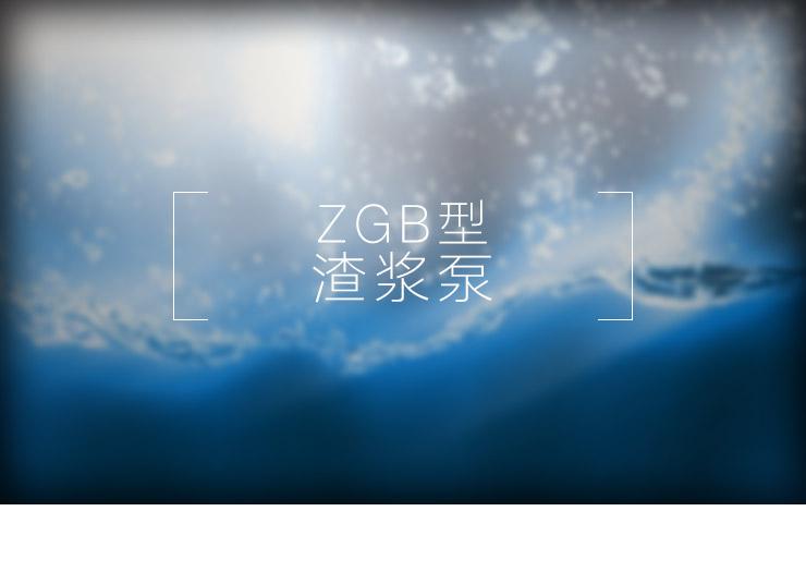 青海ZGB型渣浆泵供应商|报价|厂家直销