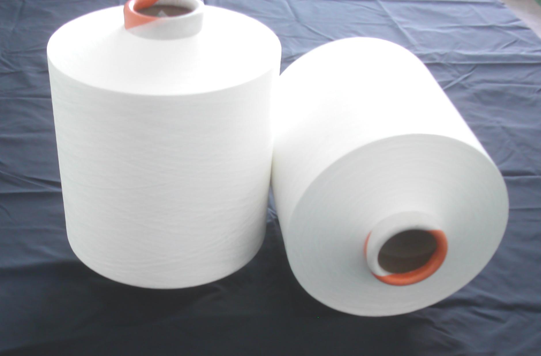 东莞市东武纺织供应全消光涤纶长丝 飞织鞋面材料纱线