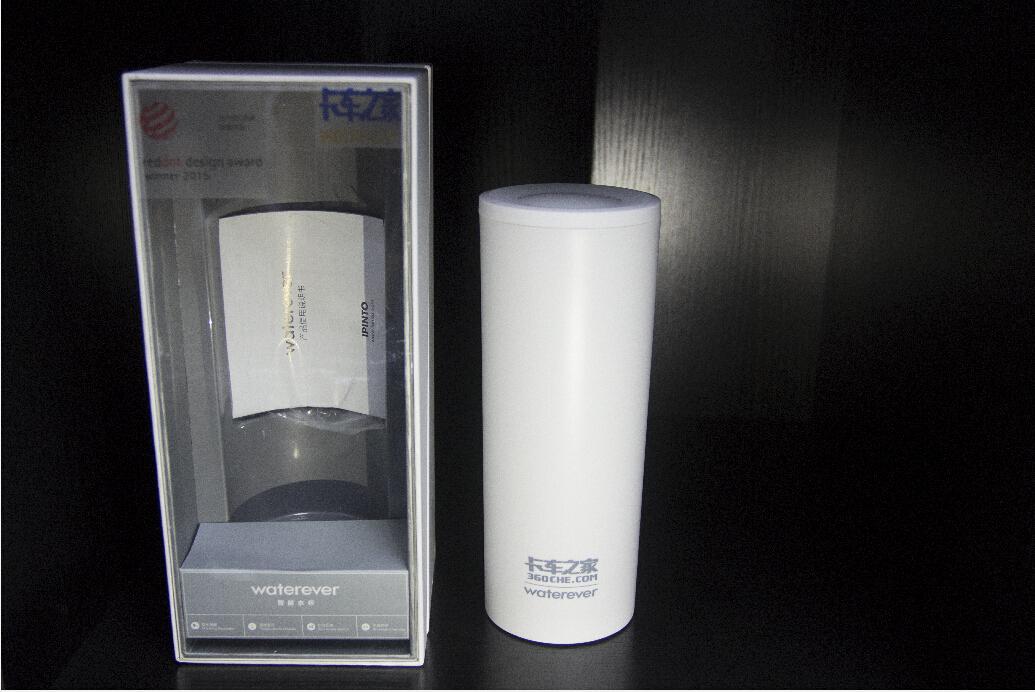 智能水杯饮水提醒创意高档商务礼品手机同步led水温显示无线充电water
