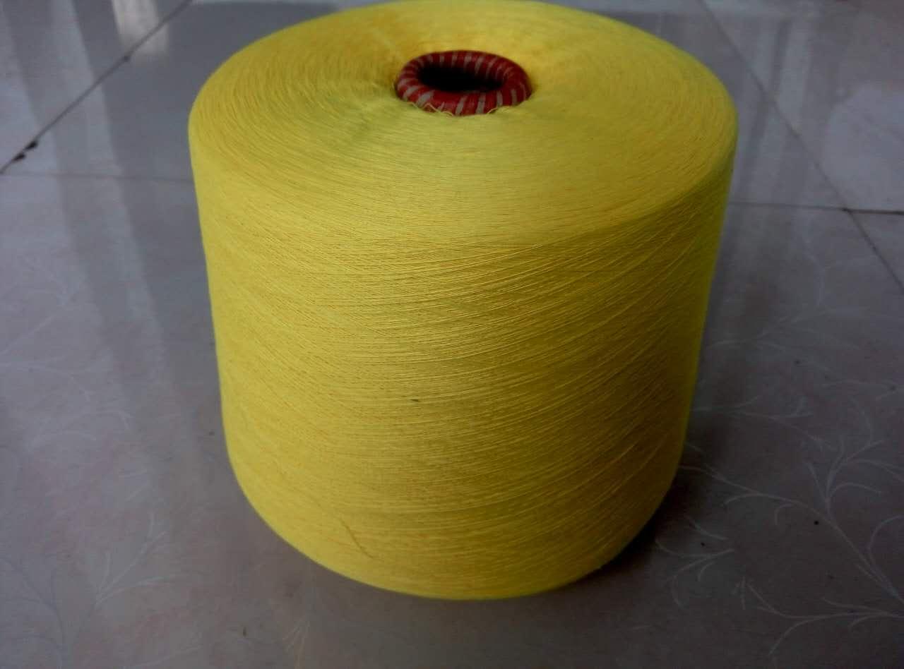 供应用于针织,机织的涤纶色纺纱21支32支40支