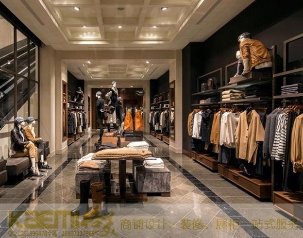 服装店衣柜展示柜木质烤漆展示柜价格