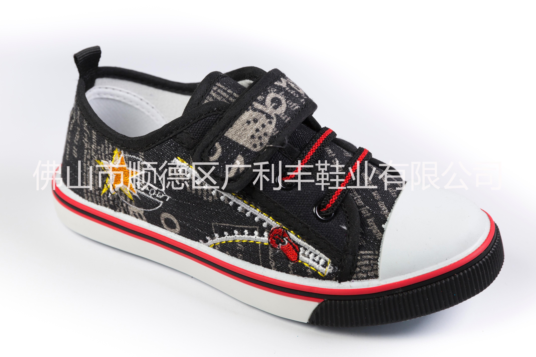 2016新款童鞋,儿童低帮帆布鞋,男女童运动板鞋男女童鞋批发