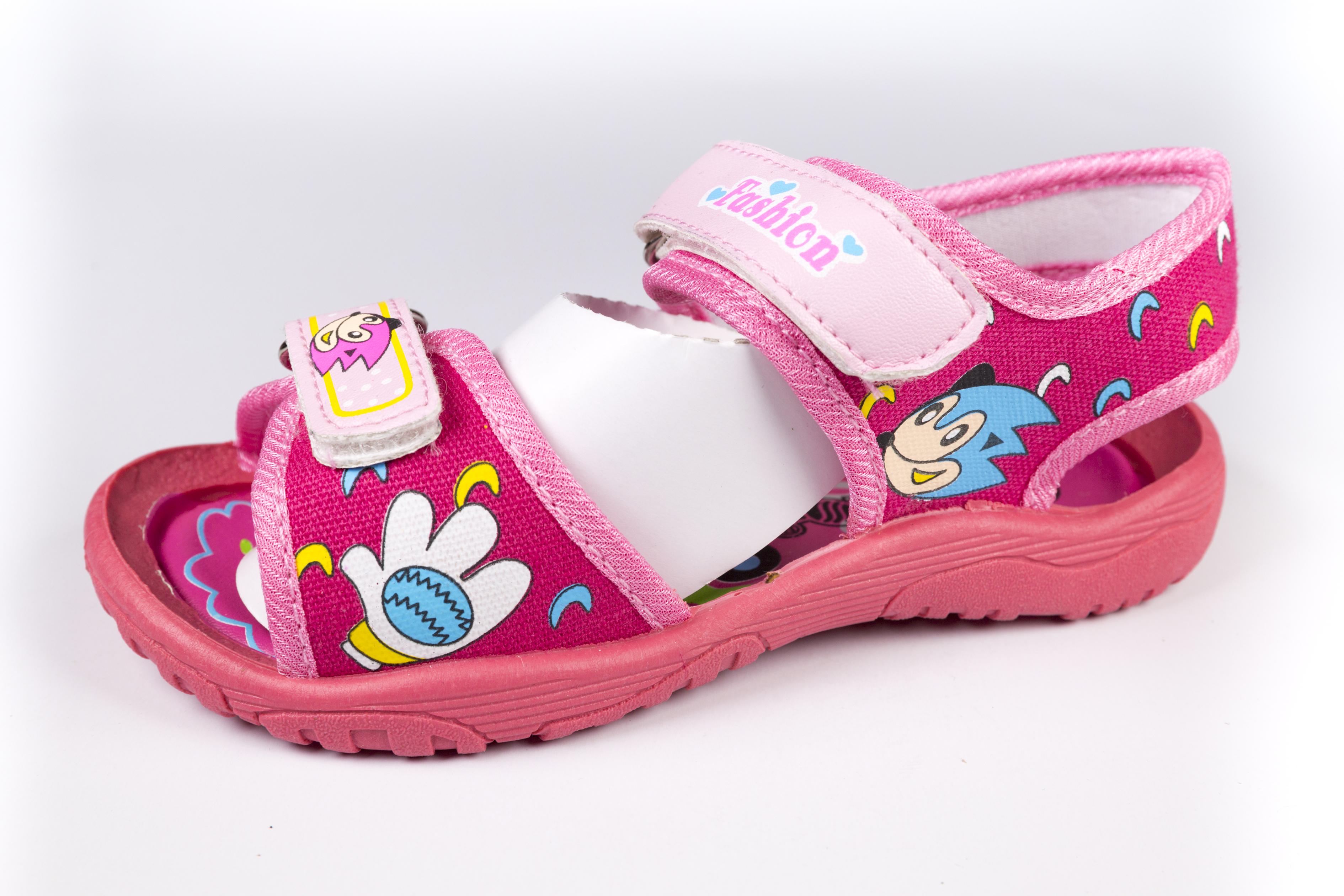 最新款夏季凉鞋 可爱布凉鞋男女童凉鞋批发