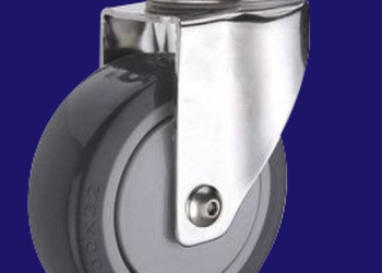 厂家直销 4寸防静电脚轮 导电脚图片