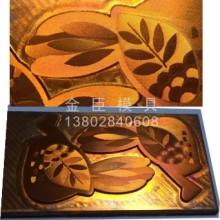 烫金版 高精度凹凸铜版锌板电雕版 供应批发