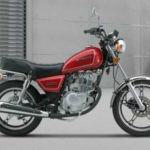 二手豪爵铃木太子125摩托车 豪爵太子摩托车150