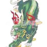 景泰蓝掐丝珐琅旺财貔貅艺术壁画图片