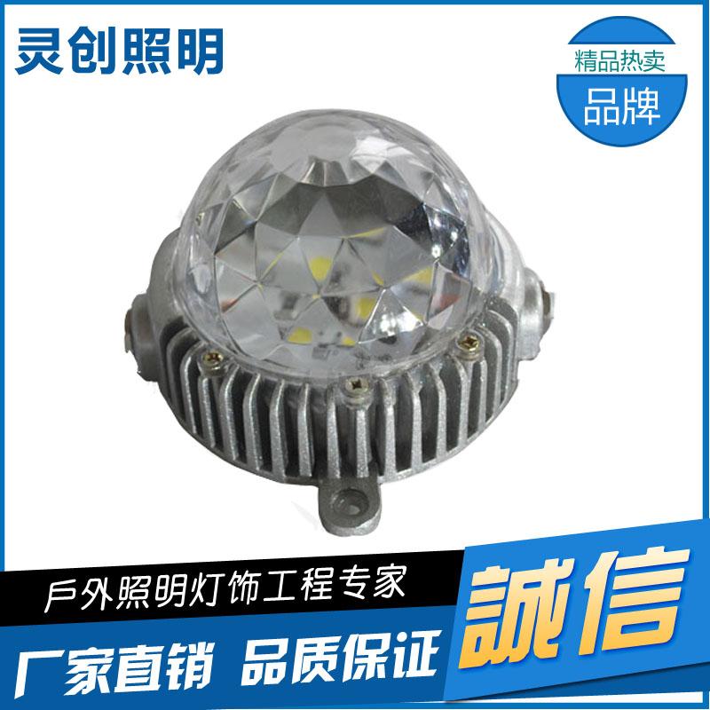 供应LED七彩点光源专业生产厂家品质好的有哪些厂家-推荐灵创照明