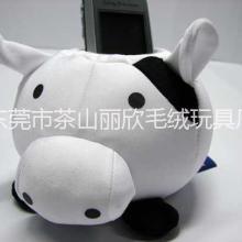 动物类毛绒手机座价格,广东东莞毛绒玩具公仔手机座厂家订做价格批发