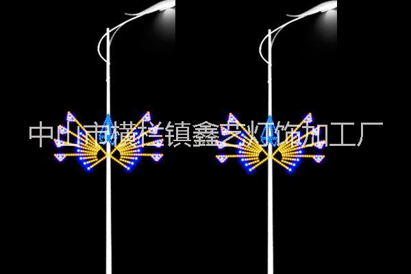 批发供应LED户外灯杆装饰灯  路灯杆装饰丹凤朝阳图案灯  路灯杆装饰太阳花图案灯  批发供应LED户外灯杆装饰灯