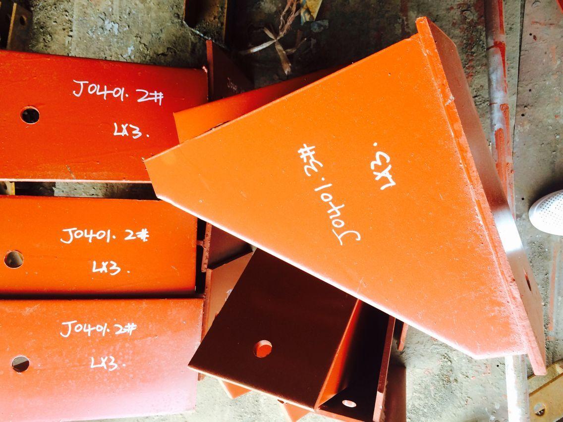 供应用于电力管道的XG2水平吊板 槽钢用焊接加强板 环形耳子 槽钢支座 整定弹簧支吊架厂家