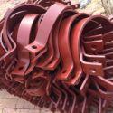 供应用于电力管道的PVC管道支架 钢管支架间距 桥架支架选择 管道 支吊架生产厂家
