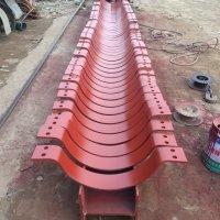 供应用于电厂的可变碟簧支吊架 加筋焊管座 导向管托 滑动管托价格 批发高压减震管托生产厂家