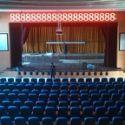 上海乐朗电动舞台横幅升降幕图片