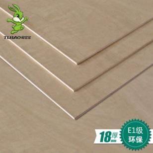 E1级18mm 杨木芯多层板图片