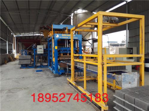 供应镇江高速公路护坡连锁块砖机生产线,全自动免烧砖机生产线