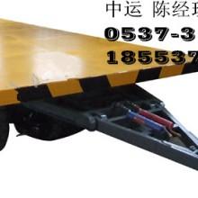 平板拖车  石材石料平板拖车 胶面板模具运输车 模具平板拖车  橡胶面板模具运输车 模具平板拖车 模具搬运车批发