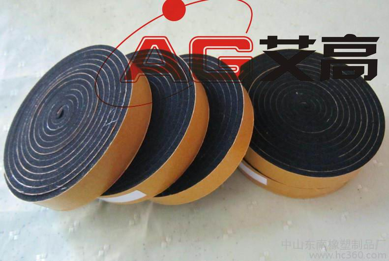供应用于隔音的硅胶发泡条 硅胶海绵条 海绵密封