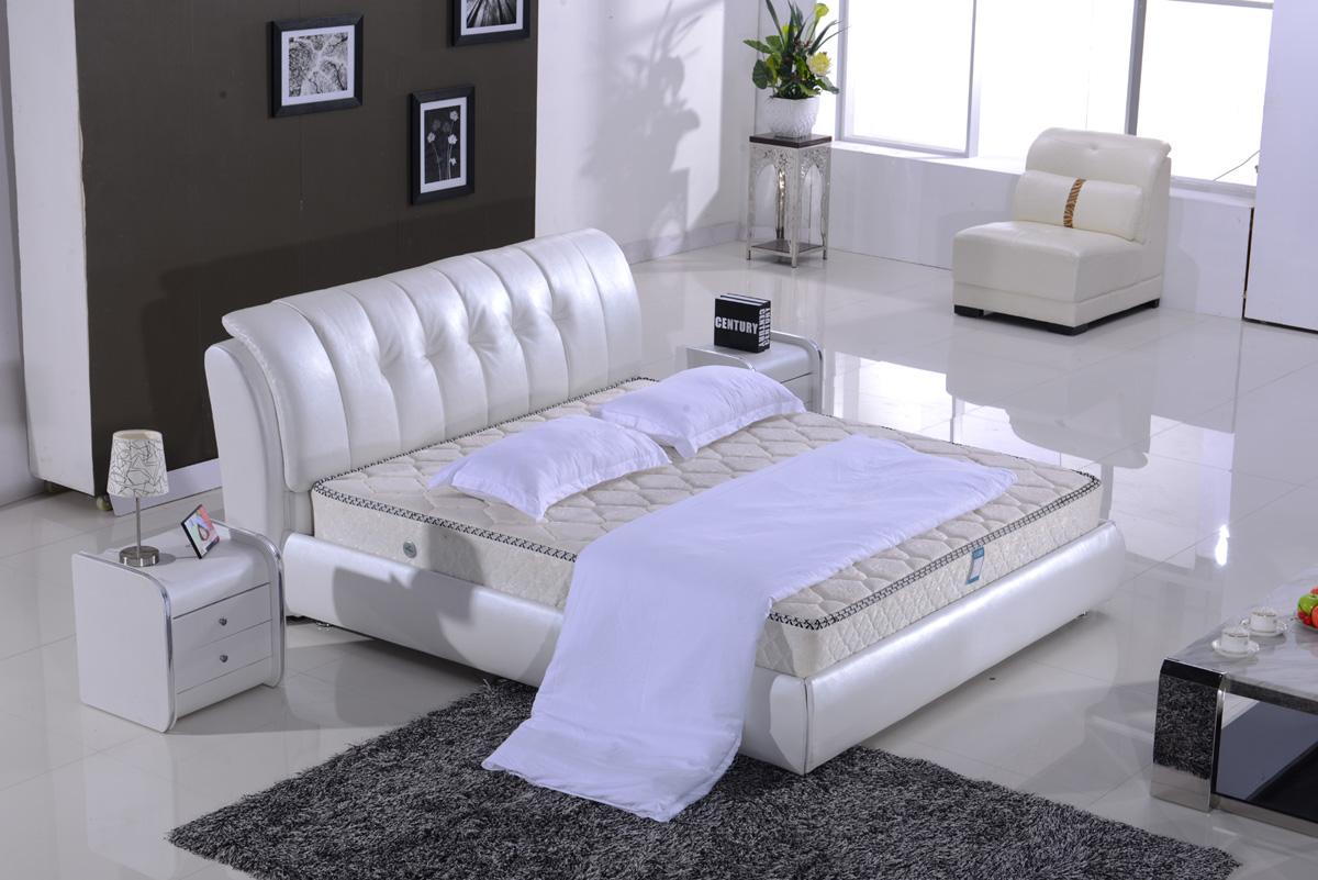 2016新款欧式床实木雕花简欧床图片|2016新款欧式床