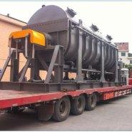 污泥处理量6吨/天空心桨叶干燥机图片