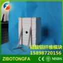 含锆型保温硅酸铝纤维模块 陶纤棉图片