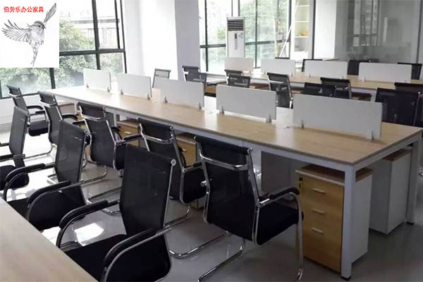 办公桌厂家专业家具公司  办公桌五金钢架价格  板式钢架办公桌