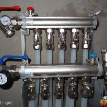 沈阳地热清洗更换分水器加循环泵换阀门图片